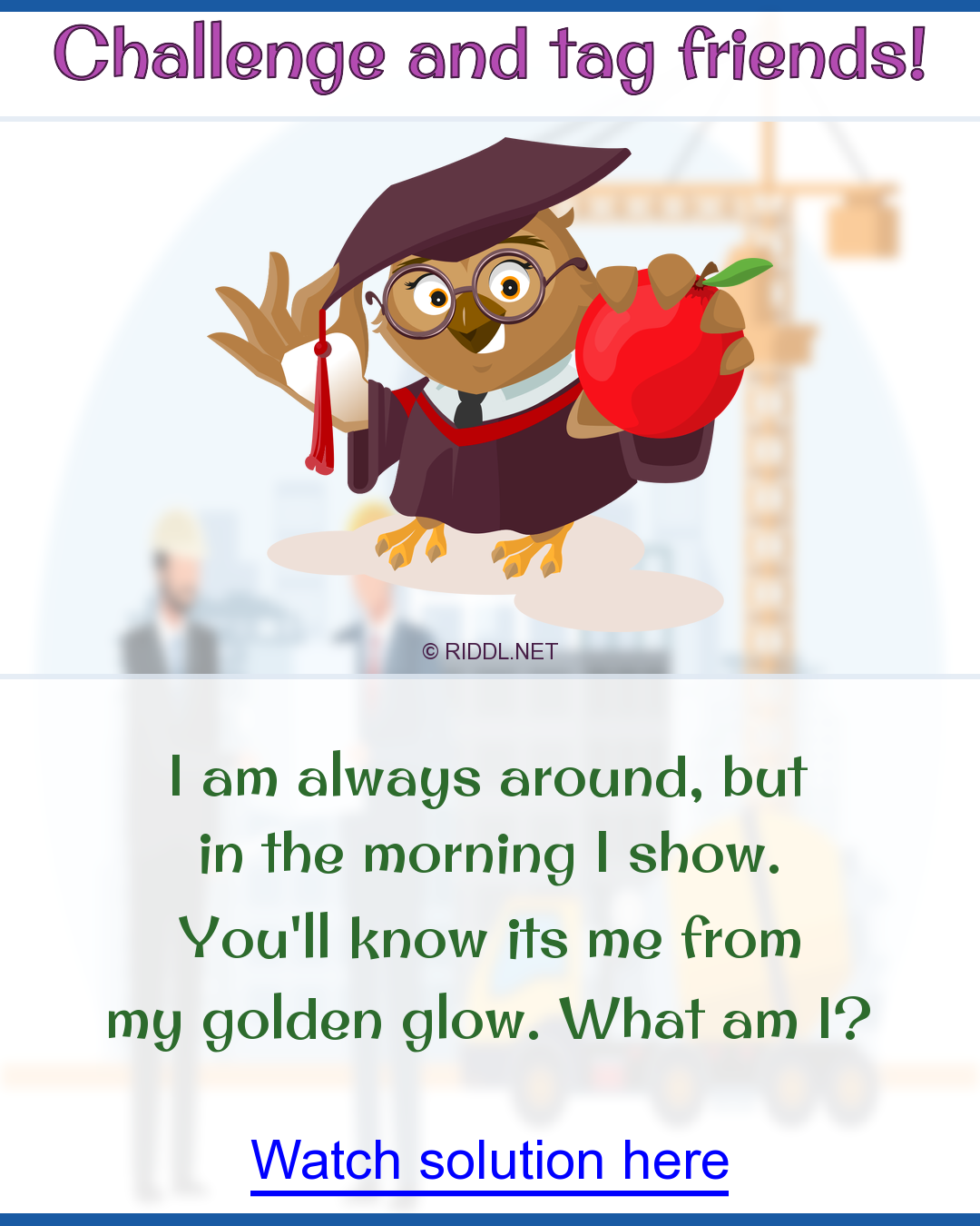 A Riddle To Train Your Brain With In 2021 Riddles Really Hard Riddles Rhyming Riddles