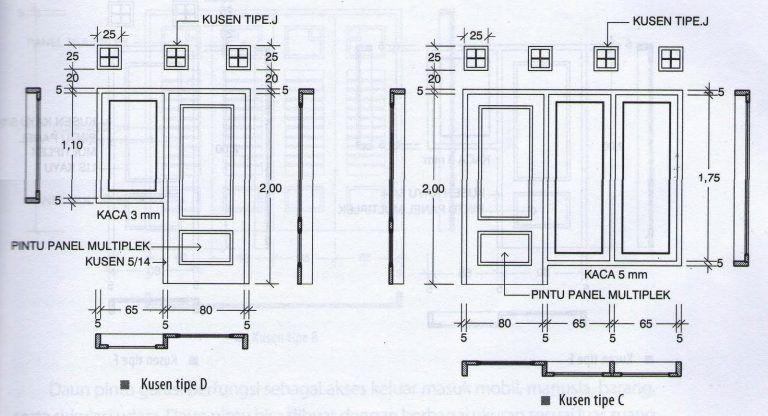 Gambar Kanopi Jendela Dari Kayu  ukuran pintu dan jendela jendela pintu rumah minimalis