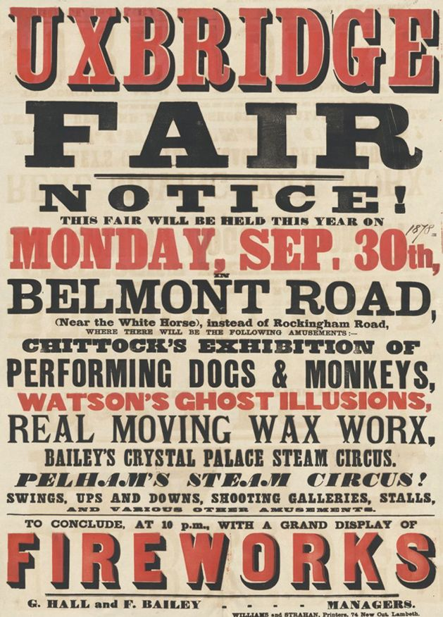 Victorian Posters & A Small Press Expo | Victorian, Typography ...