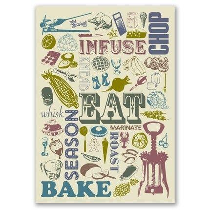 Kitchen word art. LOVE!!!