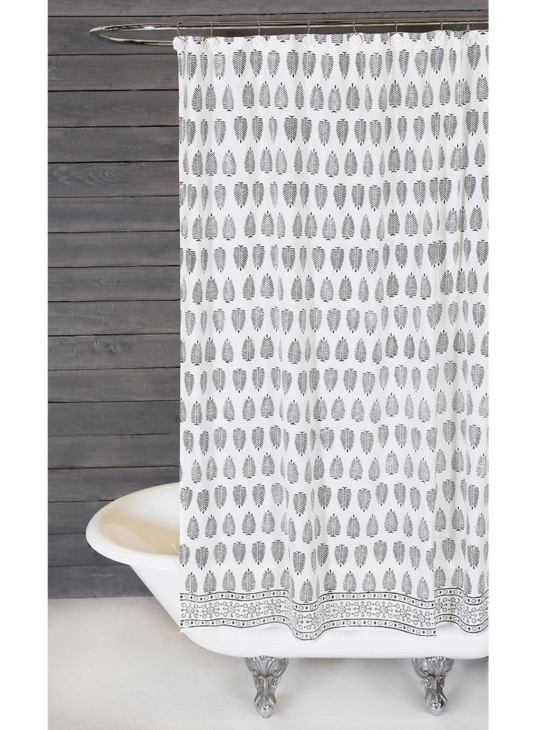 Pin By Perigold On Stunning Spa Room Designer Shower Curtains