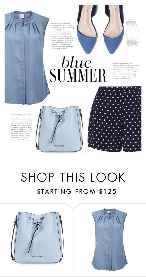 """""""dolka!"""" by feerubal ❤ liked on Polyvore featuring Armani Jeans and Zizzi"""