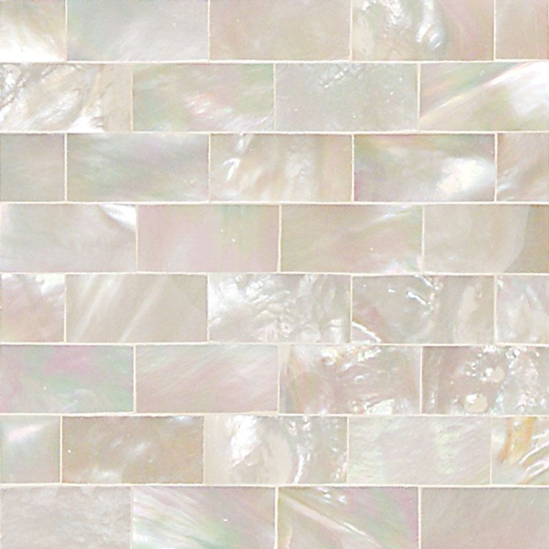 Decorative Tile Board Daltile Oj022Rb1L Ocean Jewels 2 X 2 Running Board Shell
