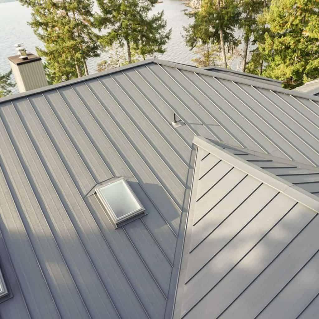 Standing Seam Interlock Metal Roofing Standing Seam Metal Roof Roof Design Standing Seam
