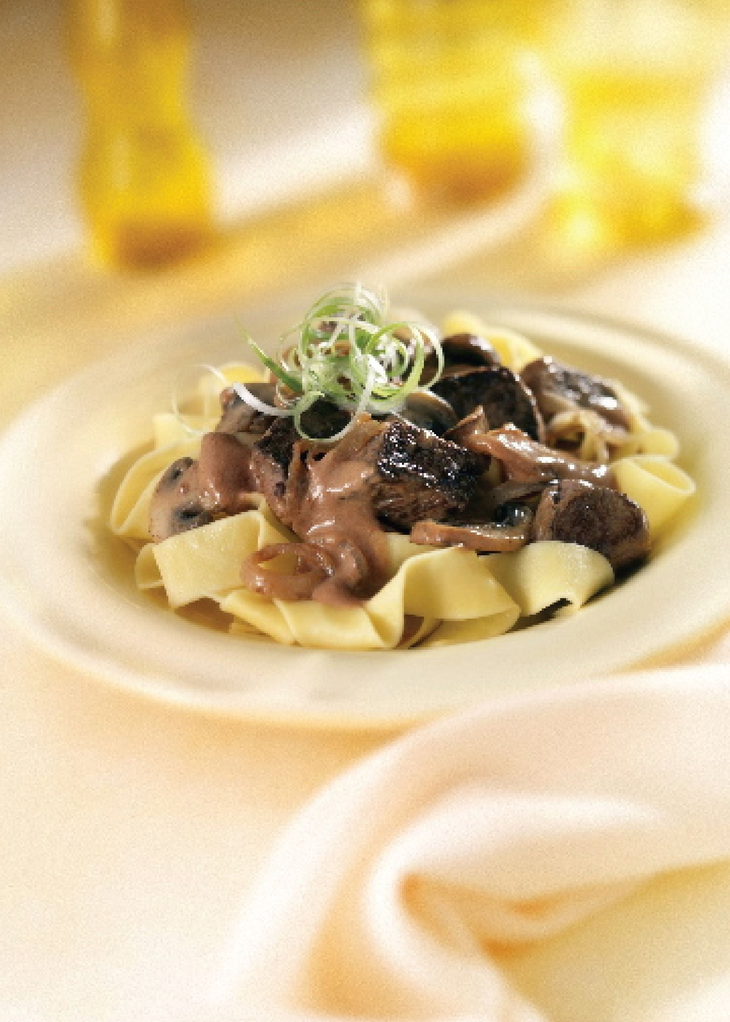 Make this easy recipe for Savory Steak Stroganoff for a quick weeknight fall dinner! Click here to get the recipe!