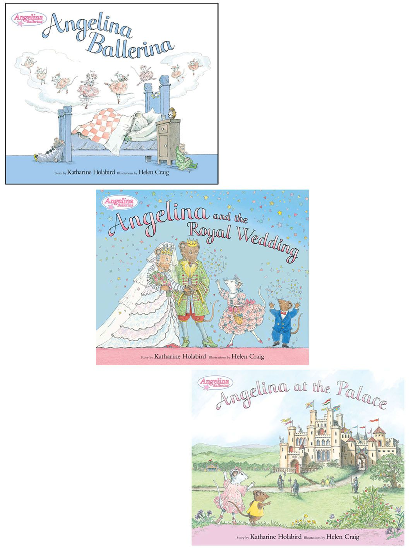Royal Angelina Ballerina Bundle (Hardcover) #Hardcover #Power #KidsBaby #ToysGamesBooks