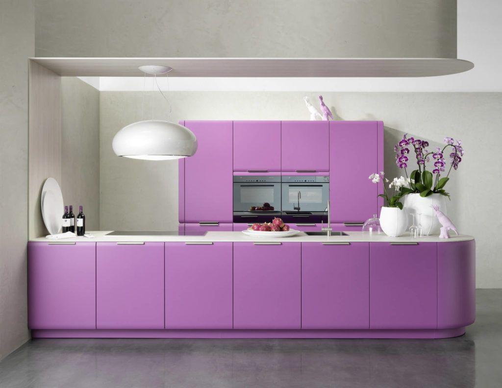 Ideal Farbgestaltung der K che Bilder und Ideen f r farbige K chen