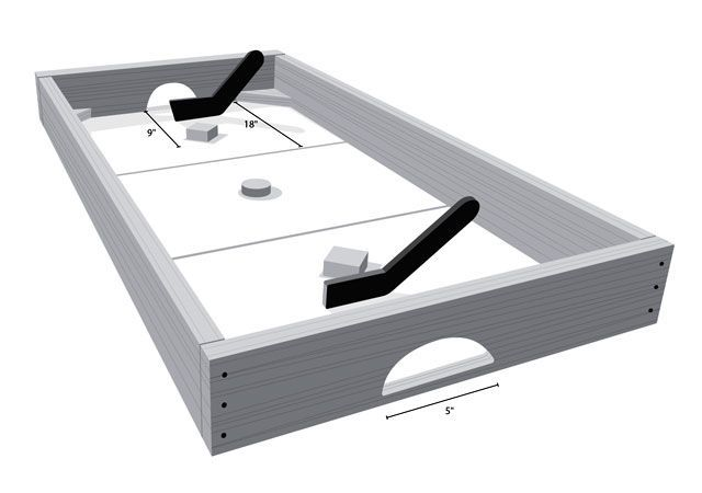 Early Adopter: Build This Knock Hockey Table
