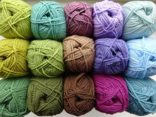 Moorland Blanket Cal Part 2 Yarn Colors Crochet Stitches Tutorial Baby Afghan Crochet