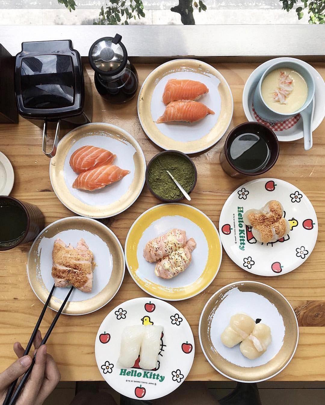 Now Open Genki Sushi U P Town Center A Pioneer Of Kaiten Or Maki Ramen Tempura And More Served On Revolving Conveyor Belt Sd Trains