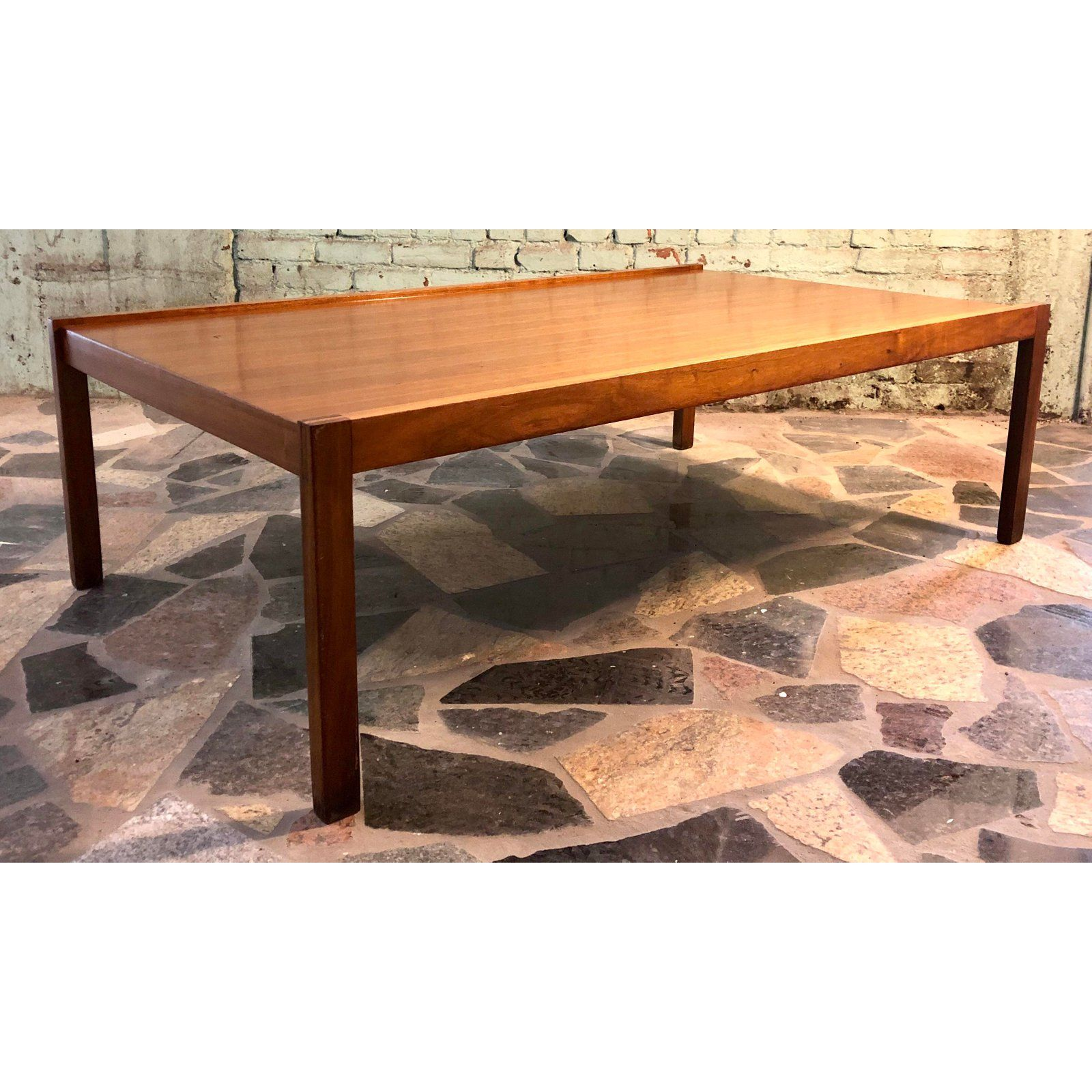 Mid 20th Century Large Mid Century Modern Teak Coffee Table For Sale Image 5 Of 11 Coffee Tables For Sale Teak Coffee Table Coffee Table [ 1600 x 1600 Pixel ]