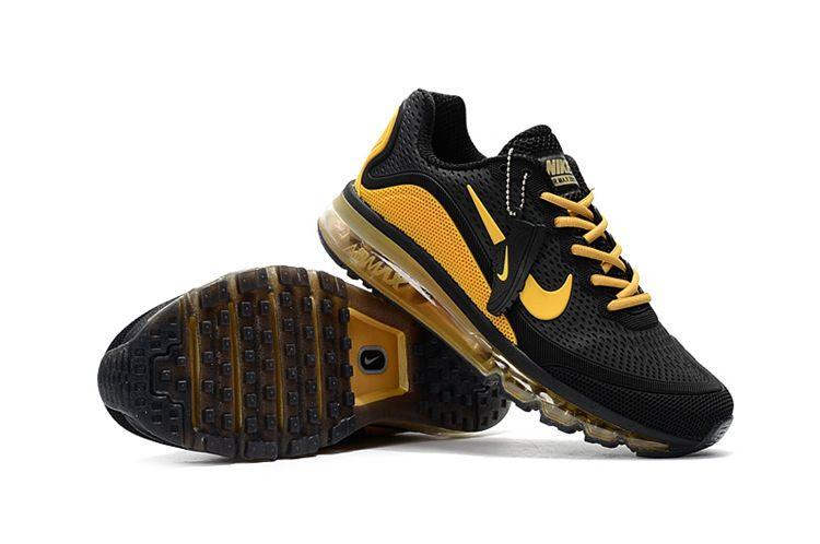 9cd08e0d2978 Nike 2017.5 KPU MAX KPU KUP Men Black Yellow 40-47