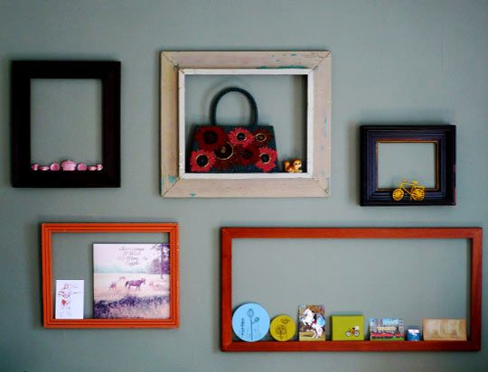 using empty frames a classic idea that still works
