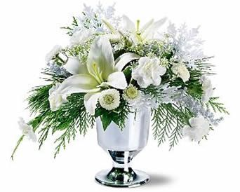 Flowers by sleeman winter white flower arrangement events winter flowers by sleeman winter white flower arrangement mightylinksfo