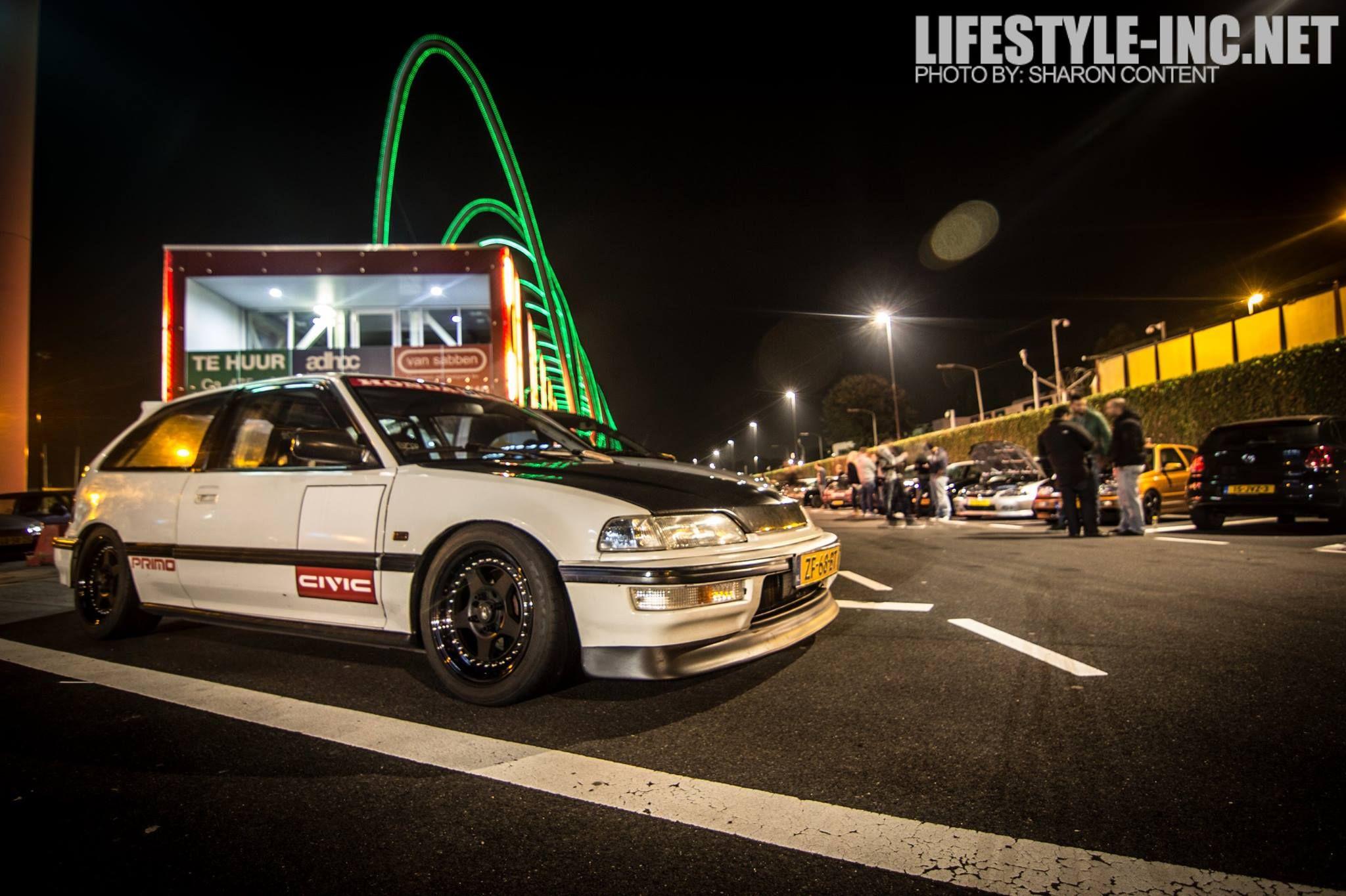 Honda Civic Ef Kanjo Street Racing Style Lifestyle