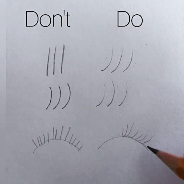 24+ Draw eyelashes info