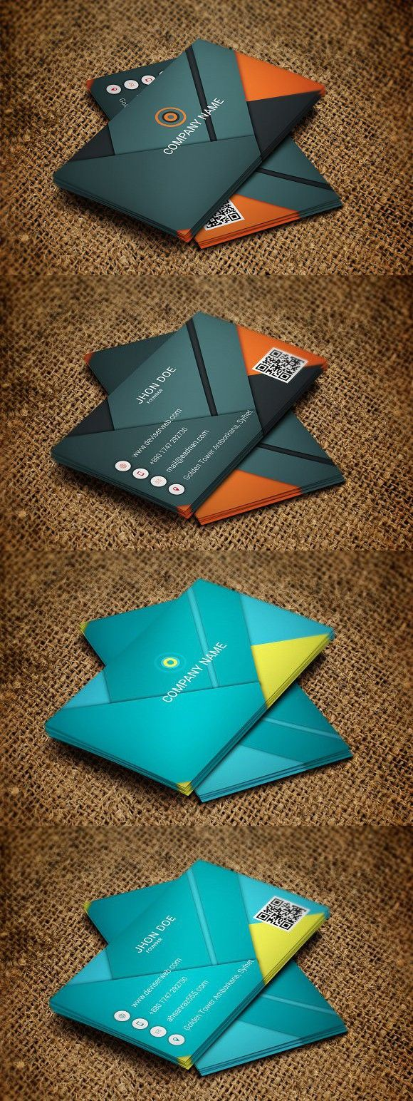Android Lollipop Business Card Business cards creative