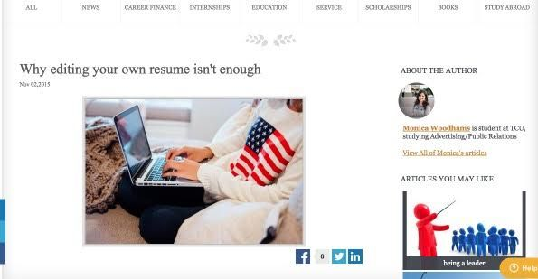 Have a friend, family member or professional look over your resume to give you some tips!  https://www.honorsociety.org/articles/why-editing-your-own-resume-isnt-enough-1