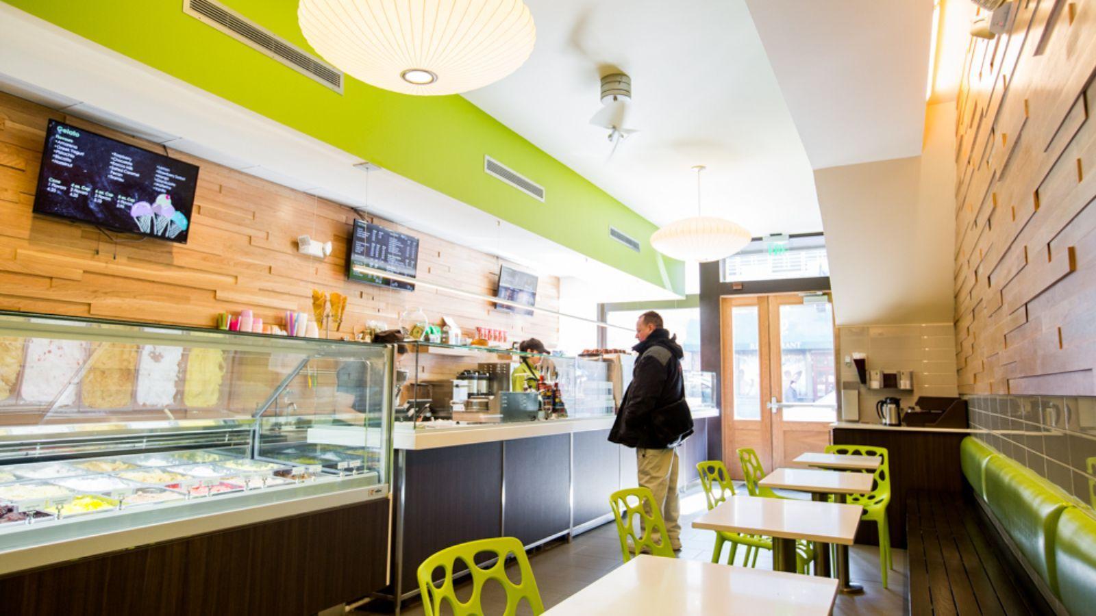 Take a look inside Greektown's newest bakery. 2015