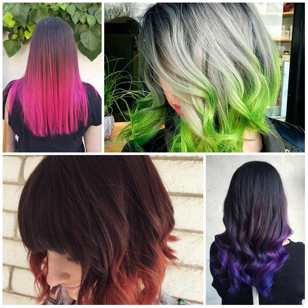 Top 10 Dip Dye Hair Color Ideas For