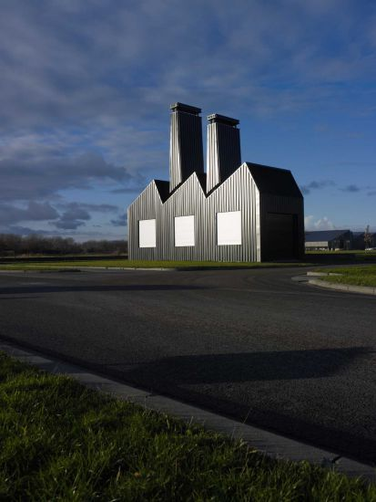 Florentijn Hofman - Little Factory Drachten, (NL) 2012 5 x 12 x 14 meters