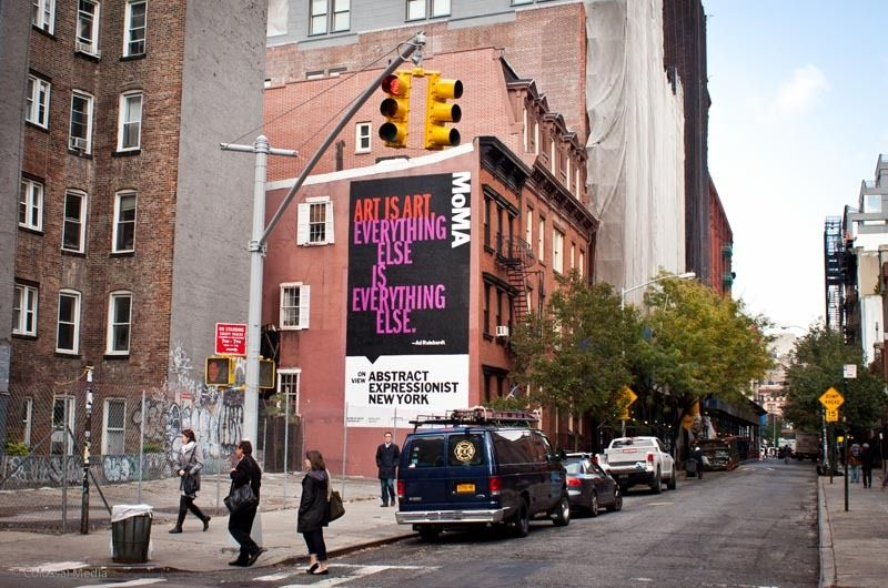 Abstract Expressionist New York - The Department of Advertising and Graphic Design