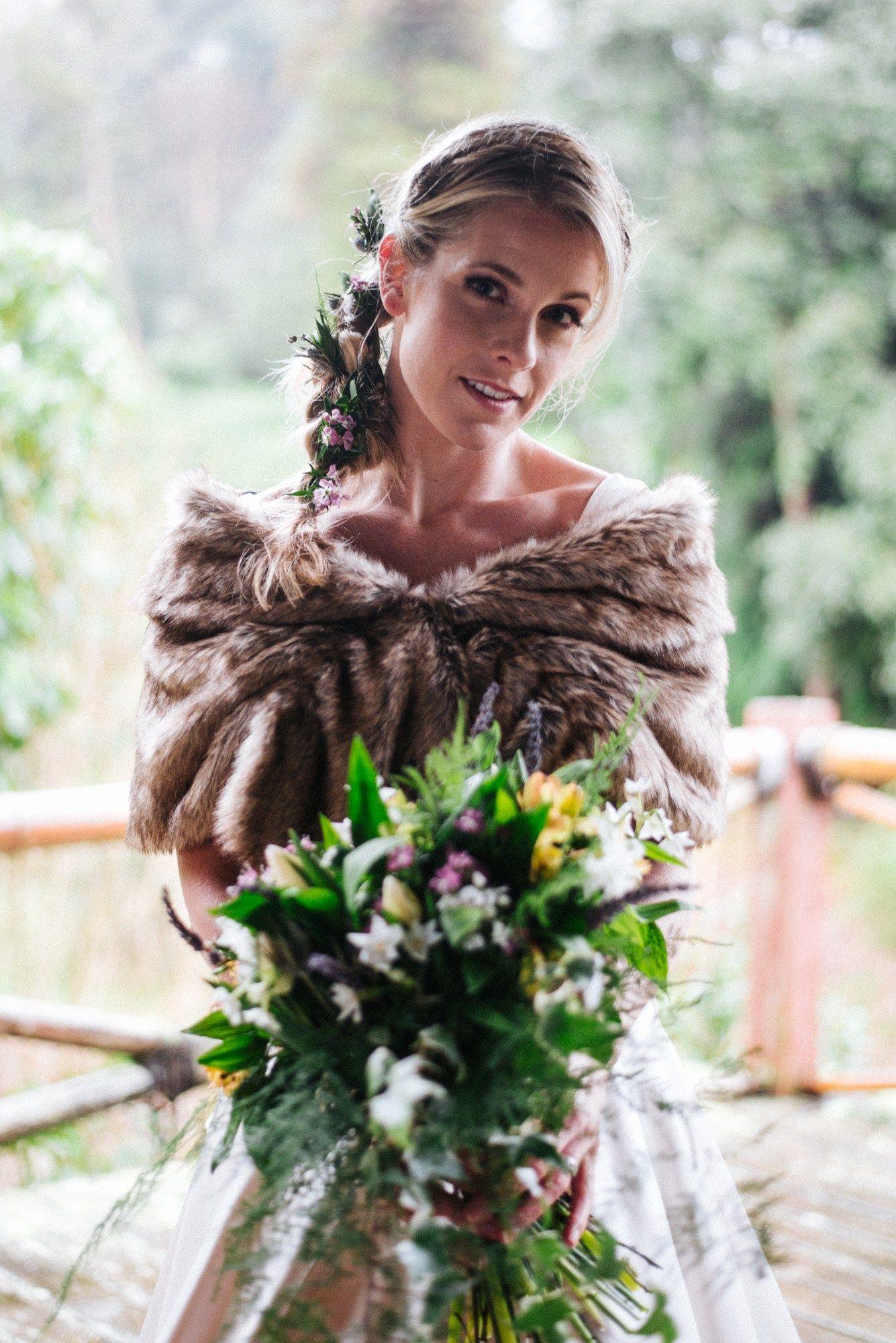 Wet and wonderful winter wedding inspiration at tregothnan estate