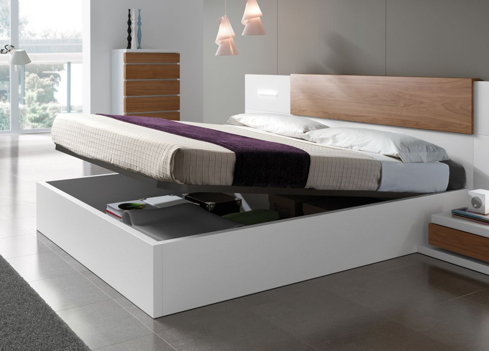 Kenjo Storage Bed Bedroom bed design, Bed designs with