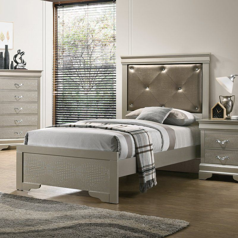 Mize Upholstered Standard Bed Upholstered platform bed