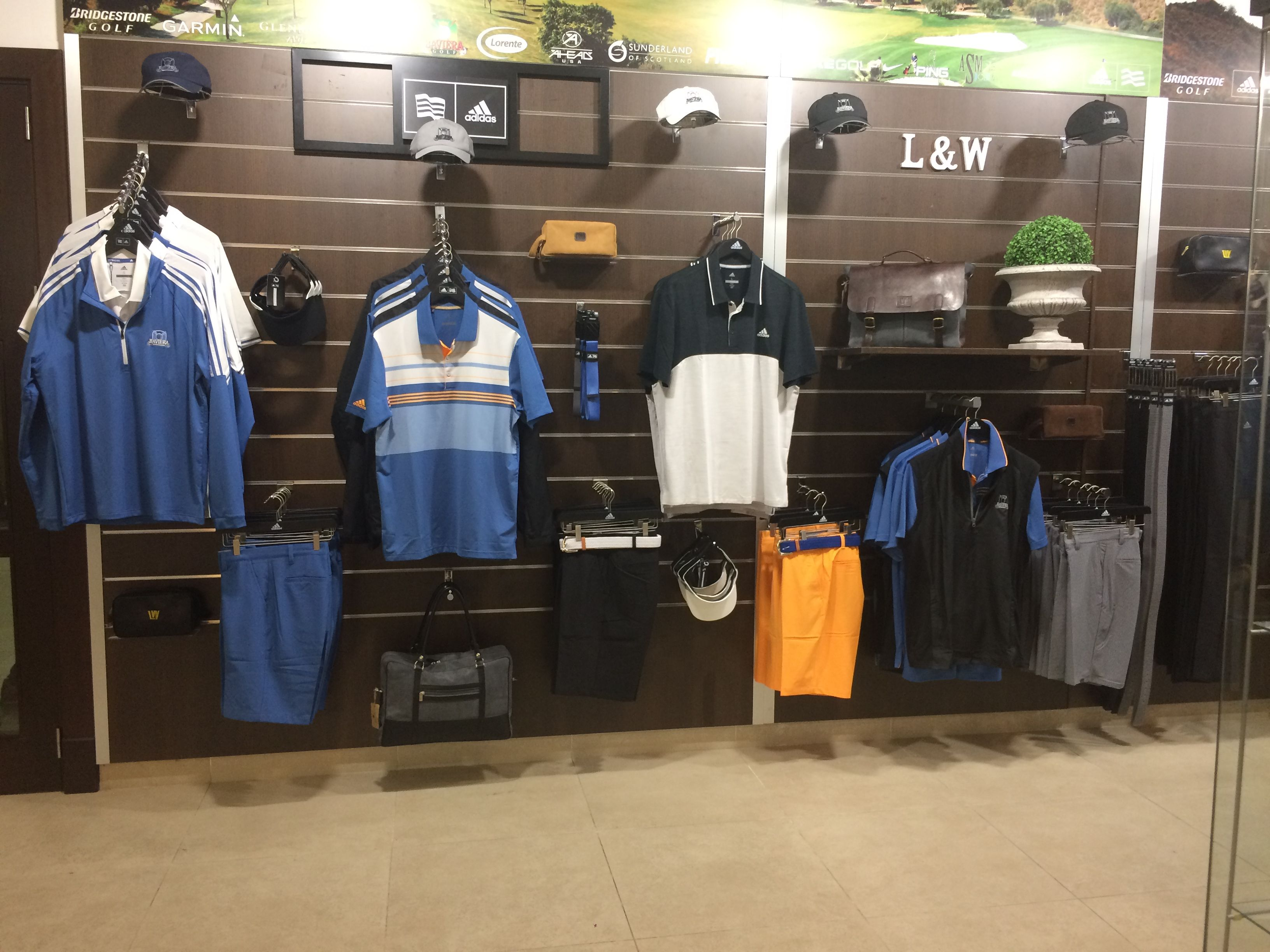 Adidas Golf Display La Casa Del Golf Casas