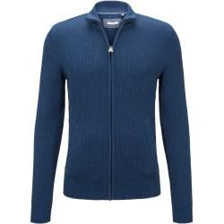 Photo of Tom Tailor Men's Textured Cardigan, Blue, Size L Tom TailorTom Tailor
