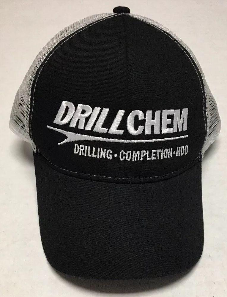 separation shoes eda21 44c3d DrillChem Hat Drilling Completion HDO Baseball Cap Oilfield Oil Gas  Woodlands TX  OC  BaseballCap