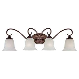 Photo of Millennium Lighting 1184-RBZ Rubbed Bronze 4 Light Bathroom Vanity Light – LightingDirect.com
