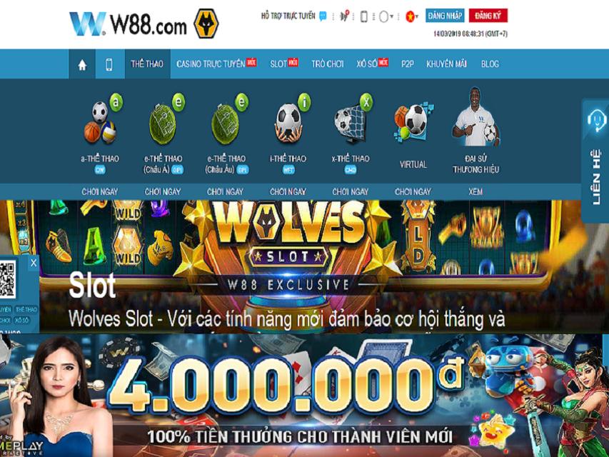 Cập nhật các chương trình khuyến mại của nhà cái W88 | Casino, Profile,  Behance