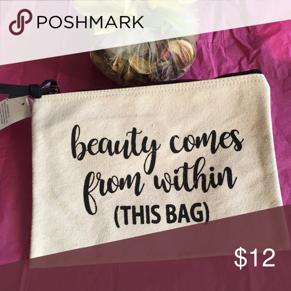 Canvas Makeup Bag Make Up Pouch Canvas pouch