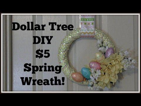 Dollar tree decor 5 diy spring wreath youtube diy flower dollar tree decor 5 diy spring wreath youtube solutioingenieria Gallery