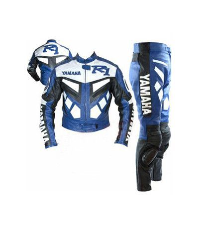 Yamaha Motorcycle Riding Gear Mens Leather Suit