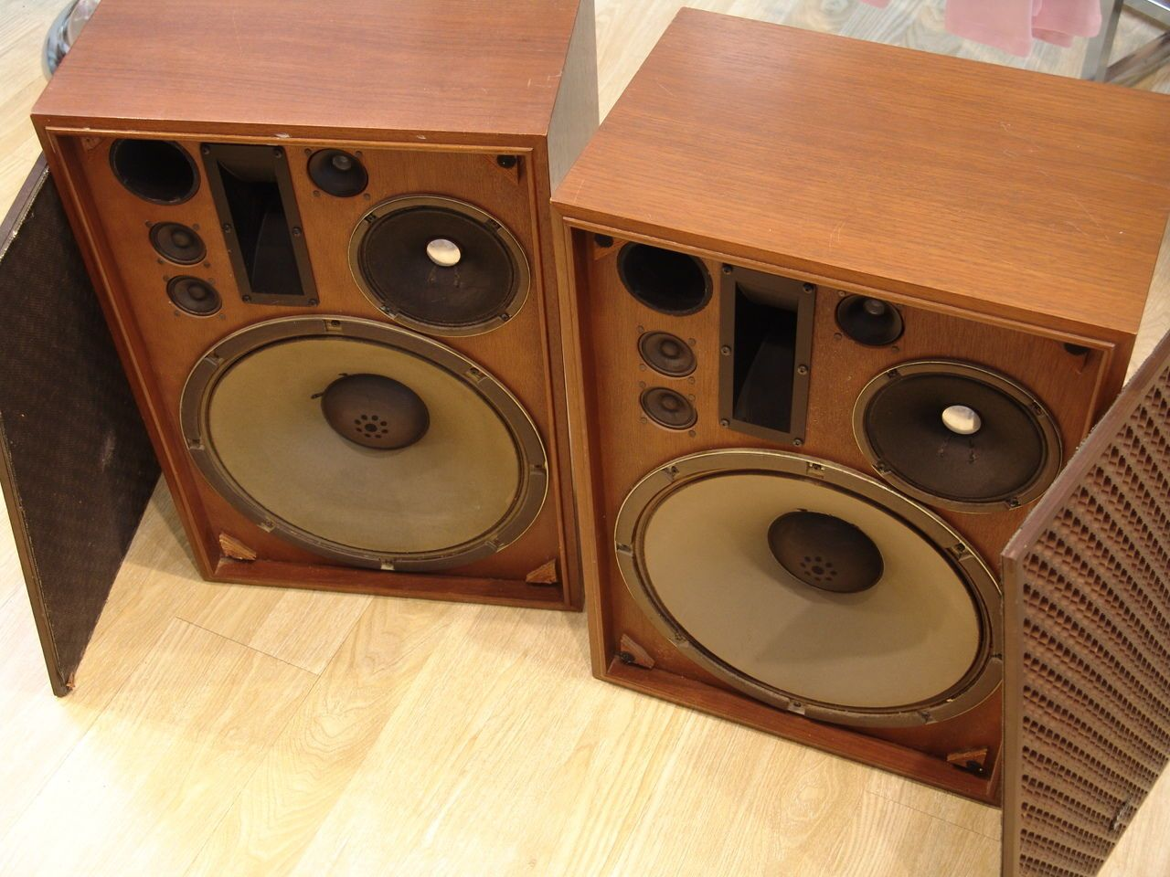 Vintage Sansui Sp 3000 Floor Speakers Made In Japan Ebay