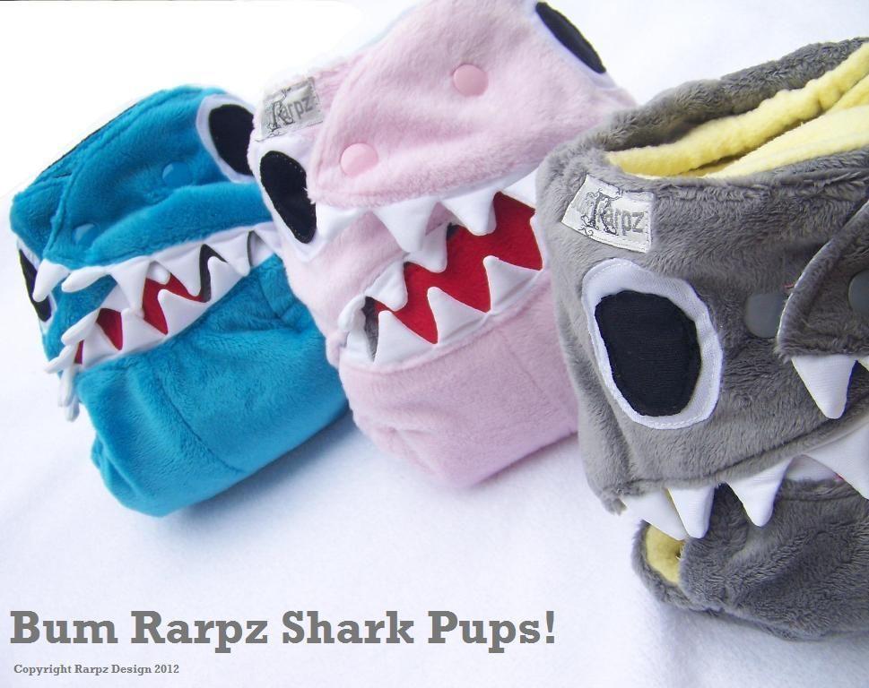 I LOVE the shark pups from Modern
