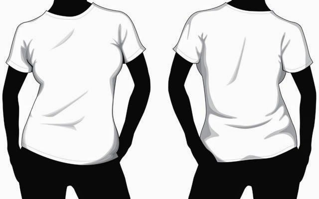 ymmoussitu t shirt template back Art Licensing Product Outline - t shirt template