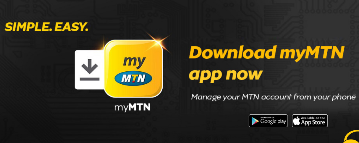 Download MyMTN App and get free 500MB data on MTN