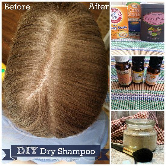 Diy Homemade Dry Shampoo Recipe For Light Medium And Dark Hair Colors Recipe Homemade Dry Shampoo Dry Shampoo Diy Dry Shampoo