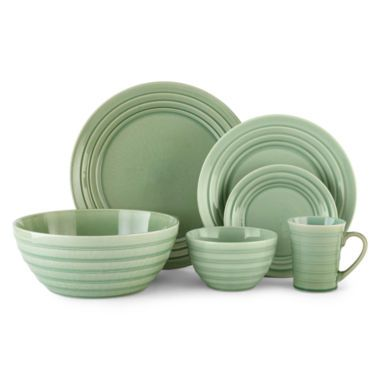 JCPenney Home™ Odessa Dinnerware Collection found at @JCPenney  sc 1 st  Pinterest & JCPenney Home™ Odessa Dinnerware Collection found at @JCPenney | for ...