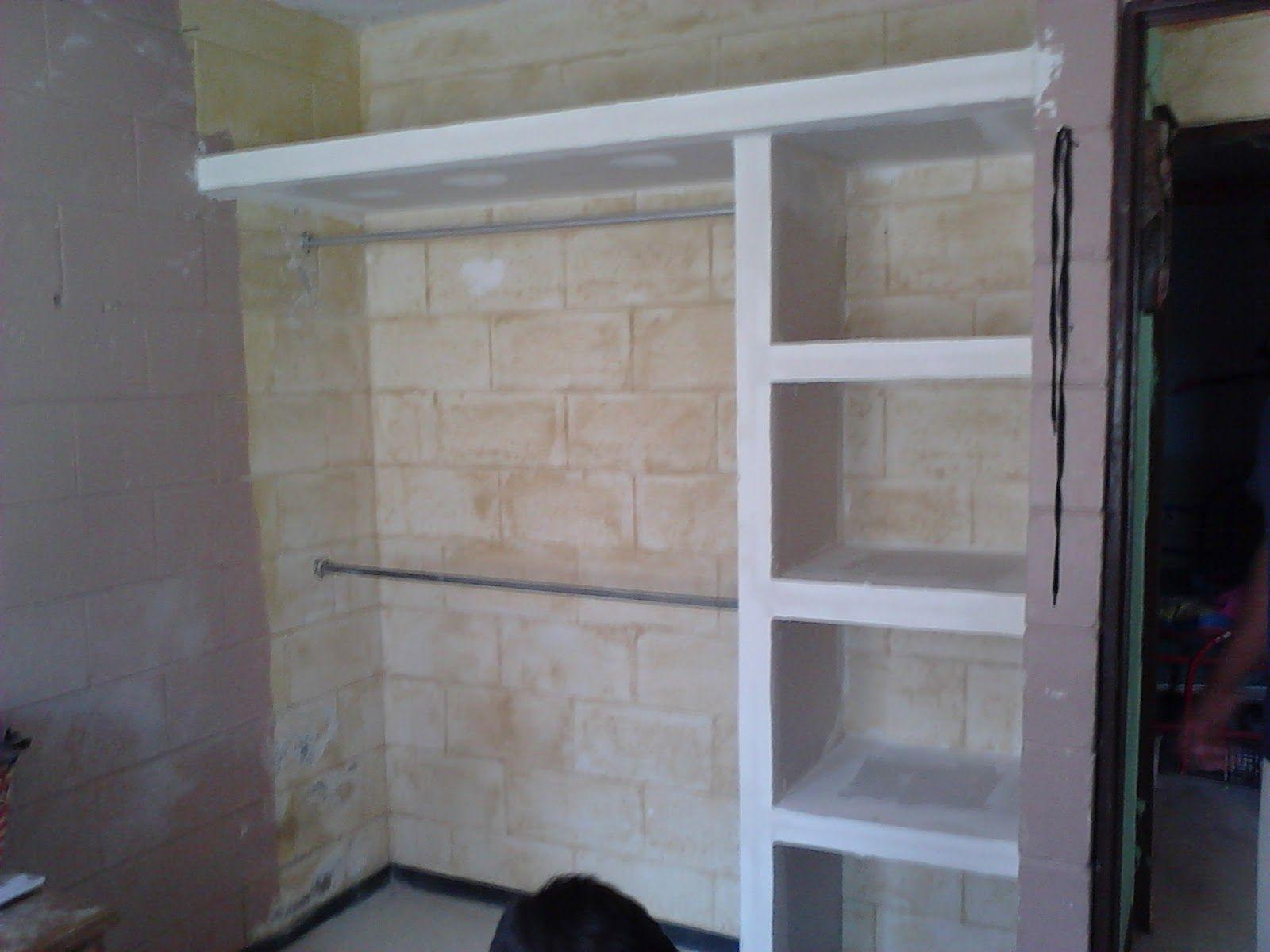 Imagen 19 Closet De Tablaroca Disenos De Closet Pequenos Muebles De Tablaroca