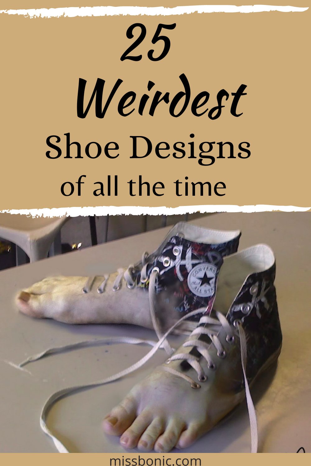Here are 25 weirdest shoe designs of all the time. #shoedesign #weirdshoes #fashion #weirdfashion #fashionlove
