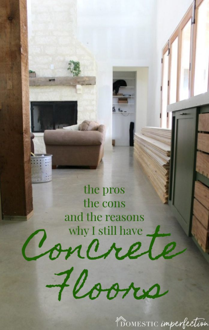 The Reason We Have Sealed Concrete Floors