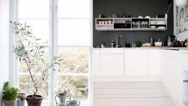 Walls · Scandinavian Interior DesignScandinavian KitchenBlack Interior  DesignSwedish ...