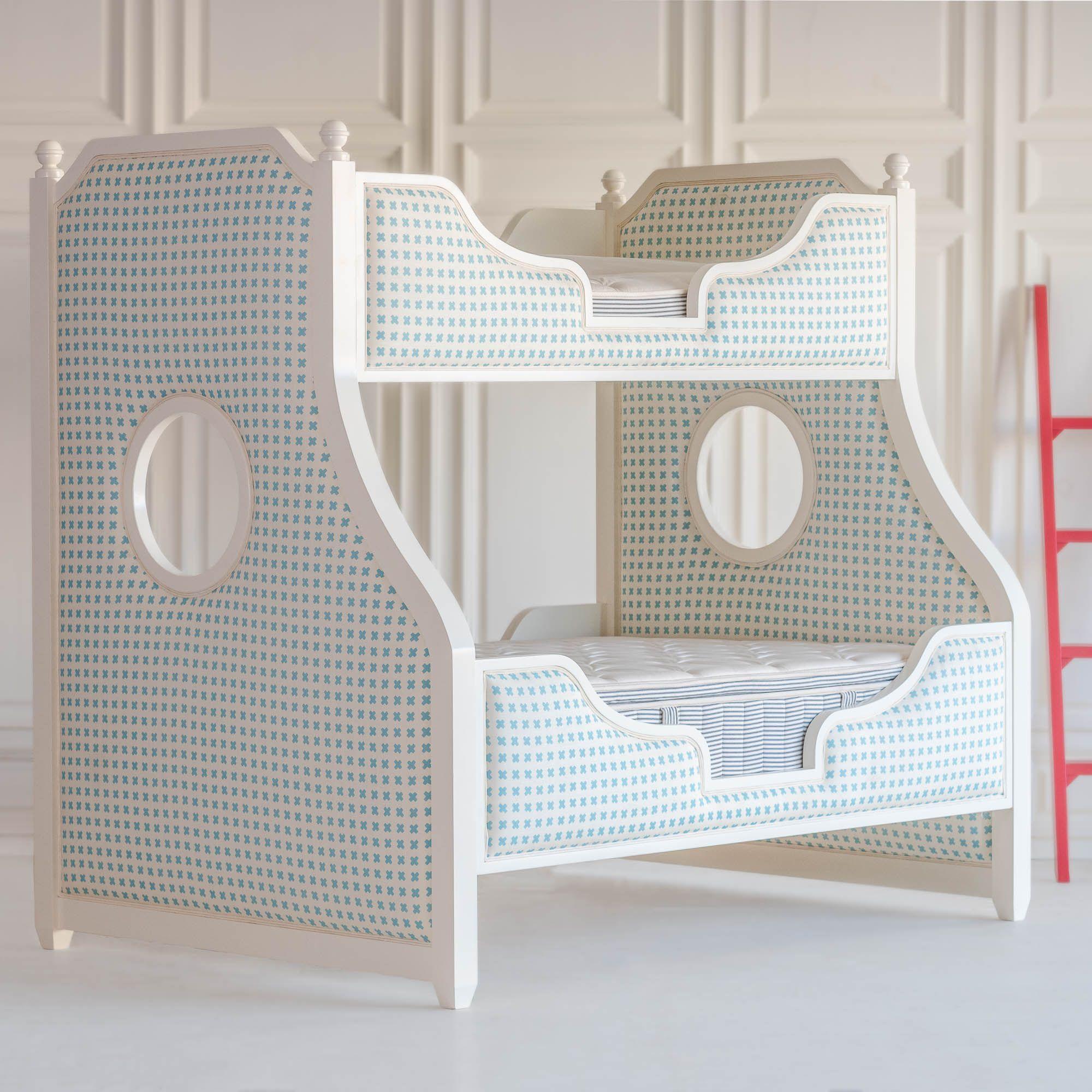 Summer Upholstered Bunk Bed Beautiful Bedding Bunk Beds Bed