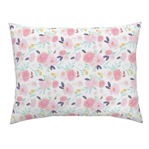 Blush Floral Pillow Sham Indy Bloom Penelope By