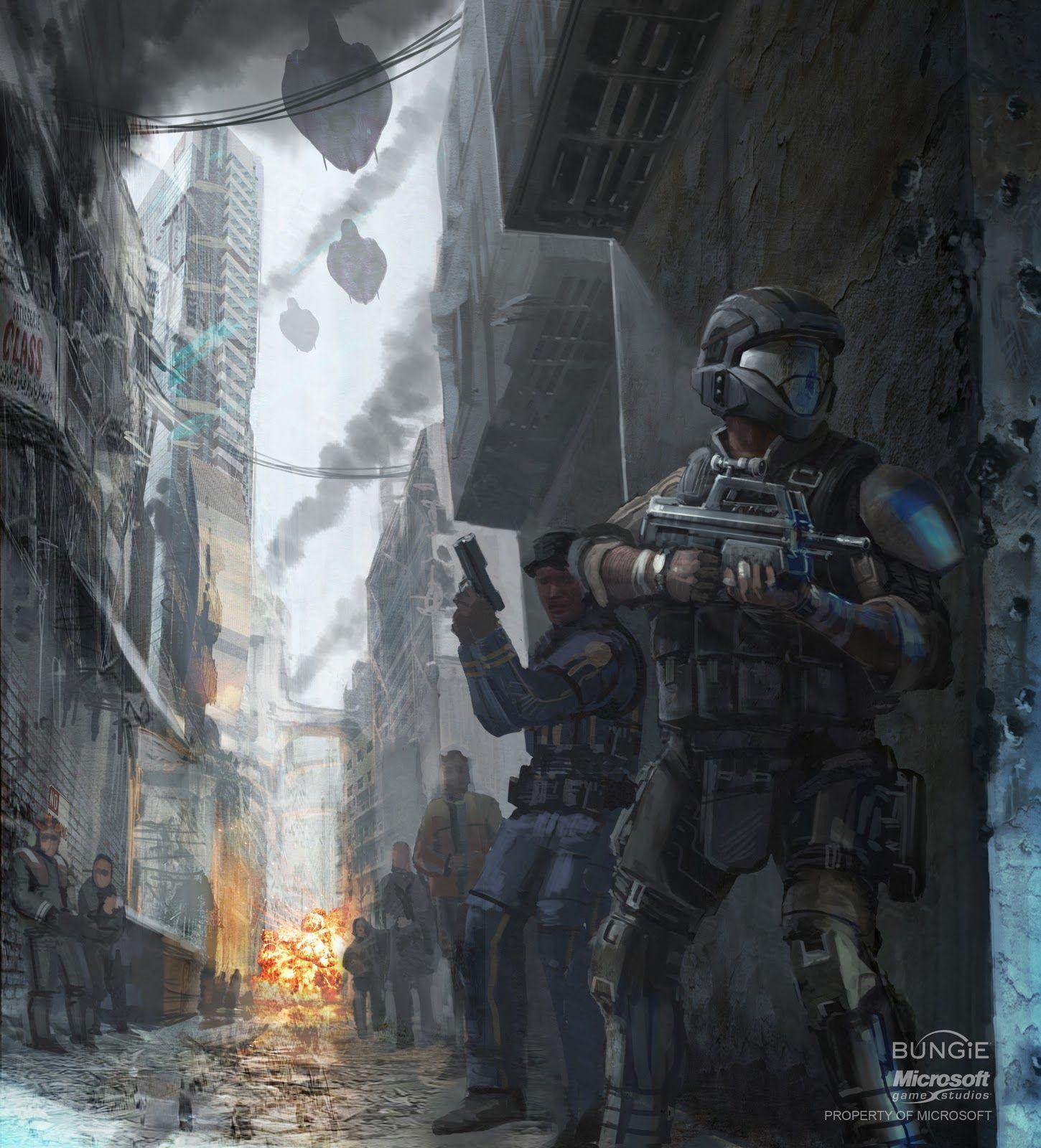 Halo 3 Odst Halo Halo Armor Concept Art